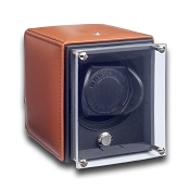 Underwood EvO Watch Winder - Single with Leather Panels