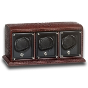 Underwood EvO Leather Watch Winder -  Triple Watch Modules
