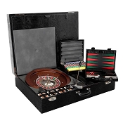 Underwood Gaming Set - Roulette - Blackjack - Cards - Backgammon