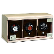 Underwood Maple Wood Watch Winder - The Three-Module Unit