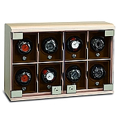 Underwood Maple Wood Watch Winder - The Eight-Module Unit