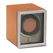 Underwood Rotobox Single Watch Winder - Latex Aluminium