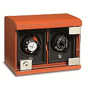 Underwood Rotobox Leather Double Module Watch Winder