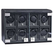 Underwood Rotobox Leather Eight-Module Watch Winder