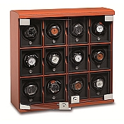 Underwood Rotobox Leather Twelve-Module Watch Winder