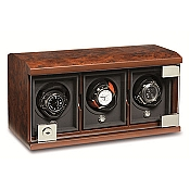 Underwood Briarwood Watch Winder - The Three-Module Unit