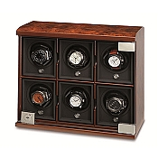 Underwood Briarwood Watch Winder - The Six-Module Unit