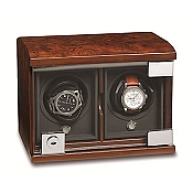 Underwood Briarwood Watch Winder - The Double Module Unit