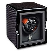 Underwood Rotobox Single Watch Winder - Carbon Fibre