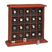 Underwood Rotobox Leather Twenty-Module Watch Winder