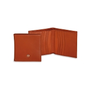 Underwood Italian Leather Men's Small Bifold Credit Card Wallet