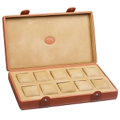 Underwood 10 Watch Leather Storage Box