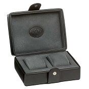 Underwood Leather Storage Box - Two Watch