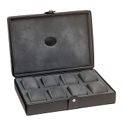 Underwood Eight Watch Leather Storage Box