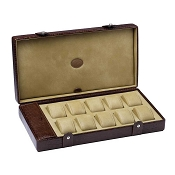 Underwood Submariner Leather Watch Storage Box for 10 Large Watches