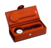 Underwood Leather Single Watch Travel Etui