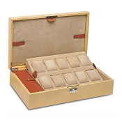 Underwood Collection Wood Storage Box for 10 Watches