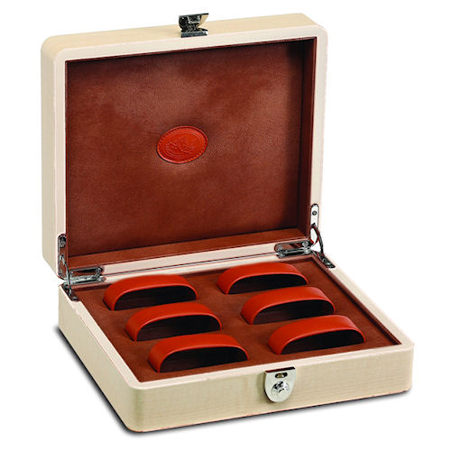 Underwood Maple Wood 6 Watch Watch Storage Box