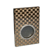 Urso Checkmate 18k Gold Cigar Cutter with Diamonds