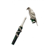 Urso Falcon Fountain Pen - Sterling Silver - Limited Edition