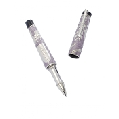 Urso Shavuot Purple Enamel & Sterling Silver Rollerball Pen - Limited Edition