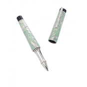 Urso Shavuot Fresh Water Enamel & Sterling Silver Rollerball Pen - Limited Edition