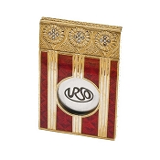 Urso Venice 18k Gold and Diamond Cigar Cutter