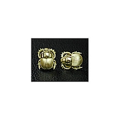 Yozu 18K Yellow Gold Scarab Cufflinks