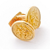 Yozu 18K Yellow Gold Zodiac Signs: Sagittarius Cufflinks