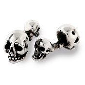 Zannetti Skull Cufflinks - Sterling Silver - Limited Edition
