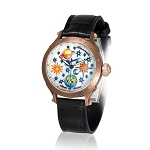 Zannetti Regent Lady Full Sky Classic Automatic Watch - Bronze