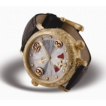 Zannetti Repeater Cornucopia Hammer & Gongs 18k Yellow Gold Watch