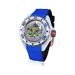 Zannetti Scuba Art Piranha High Tech Ceramics MOP Harlequin Edition Dive Watch