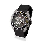 Zannetti Scuba Art Piranha MOP Dive Watch - Grey Dial - Automatic