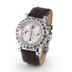 Zannetti Time of Drivers Elegance White MOP Chronograph Watch