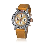 Zannetti Time of Drivers Elegance Yellow Edition Chronograph Watch