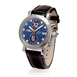 Zannetti Time of Drivers Racing Edition Blue Chrono Watch
