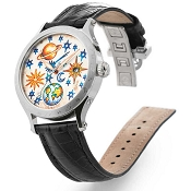Zannetti Regent Lady Full Sky Steel Automatic Watch
