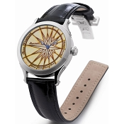 Zannetti Regent Lady Rosa Ventorum Steel Automatic Watch