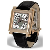 Zannetti Palatino Automatic 18k Pink Gold Watch