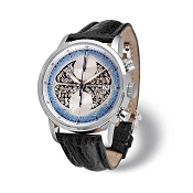 Zannetti Regent Brain Orgy Blue Chrono Men's Watch