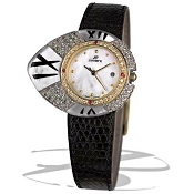 Zannetti Ovum White MOP 18k Gold Ladies Watch
