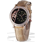 Zannetti Regent Lady Frog Diamonds Watch