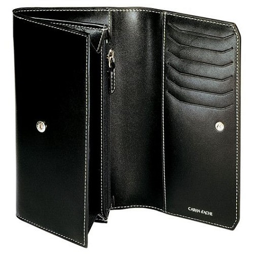 Caran d'Ache Classic Leather Women's Large Wallet