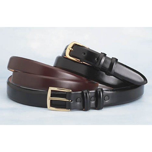 Luxurious Custom Italian Calf Belts in black and brown