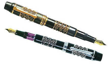 Aethra Limited Edition Fountain Pens by Ferrari da Varese