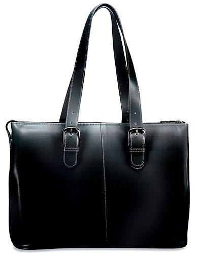 Milano Collection Madison Avenue Business Tote 3902 Black