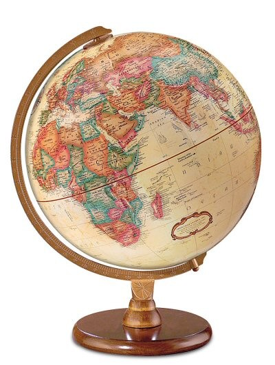 Replogle Hastings World Globe