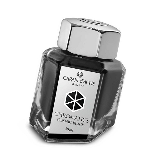 Ink Bottle Cosmic Black 50 Ml. The science of colors by Caran d'Ache.