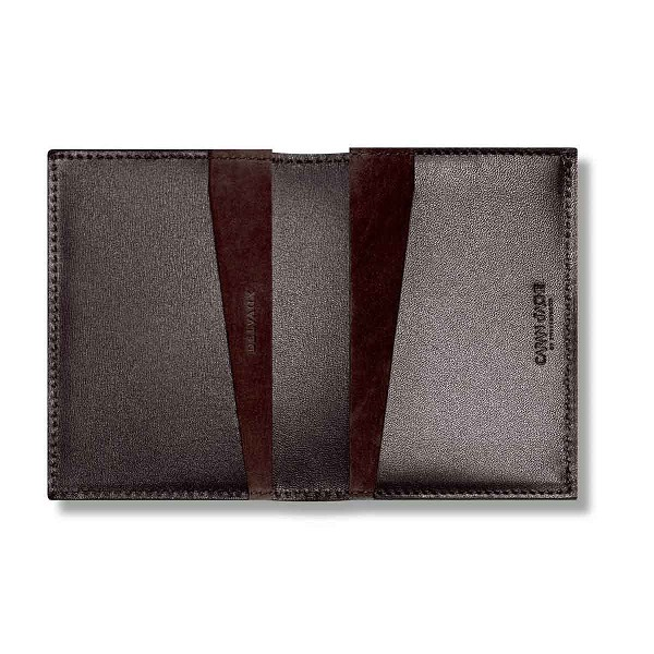Caran dache delvaux leather business card holder colourmoves